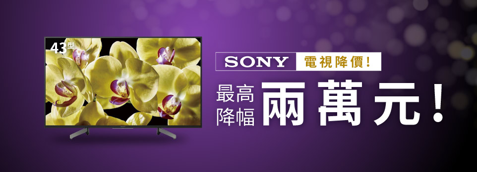 Sony指定機種降價