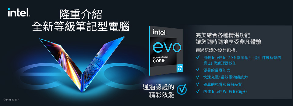 Intel EVO系列
