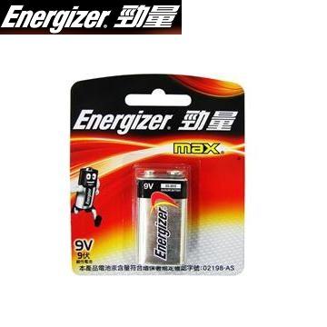 勁量鹼性電池9V1入