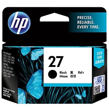 HP 27號黑色墨水匣