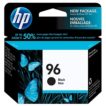 HP 96 高容量黑色墨水匣