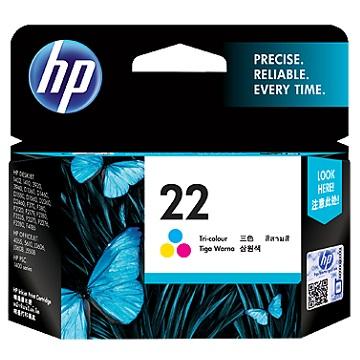 惠普HP 22號彩色墨水匣