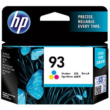HP 93 彩色墨水匣 C9361WA