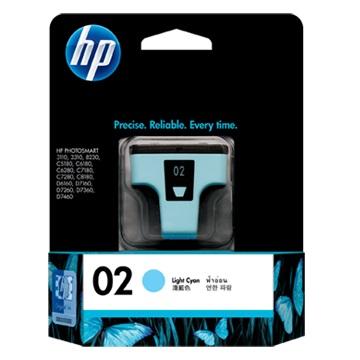 HP 2號 淺藍色墨水匣