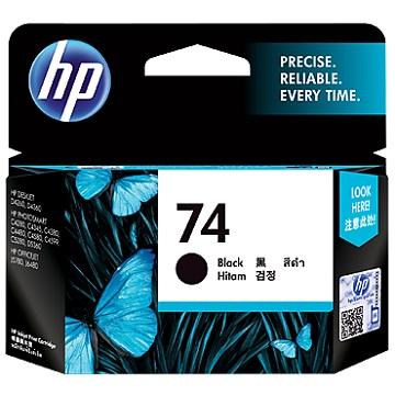 HP 74號黑色墨水匣