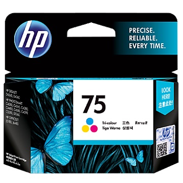 HP 75號彩色墨水匣
