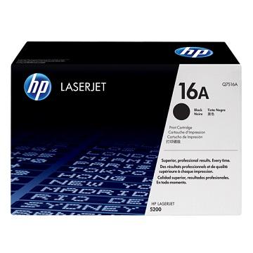 HP 16A 黑色原廠碳粉匣