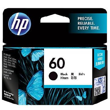 惠普HP 60號黑色墨水匣