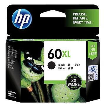 HP 60號XL黑色墨水匣