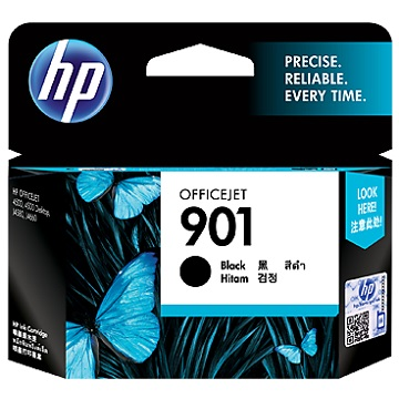 HP 901 黑色墨水匣