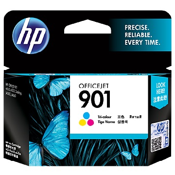HP 901 彩色墨水匣