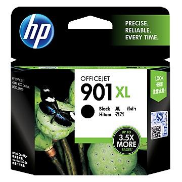 HP 901XL 高容量黑色墨水匣