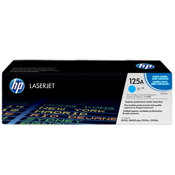 HP 125A 青藍色原廠碳粉匣 CB541A