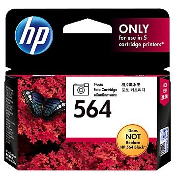 HP 564 黑色相片墨水匣 CB317WA
