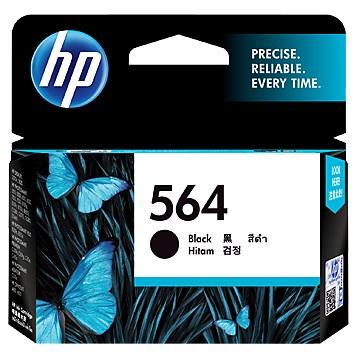 惠普HP 564 黑色墨水匣 CB316WA