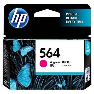 HP 564 洋紅色墨水匣