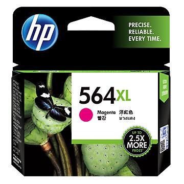 HP 564XL 高容量洋紅色墨水匣