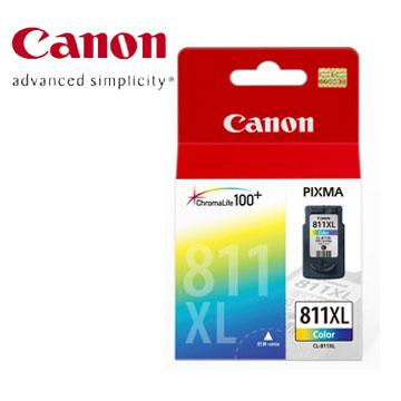 佳能CANON 811XL 高容量彩色墨水匣