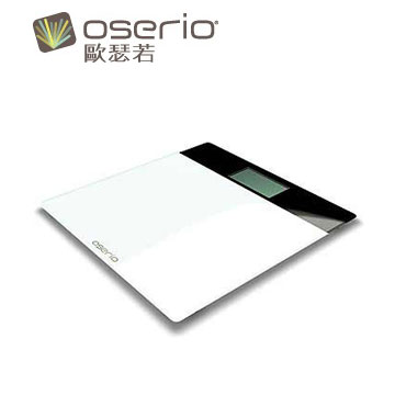 【展示機】oserio超薄玻璃體重計