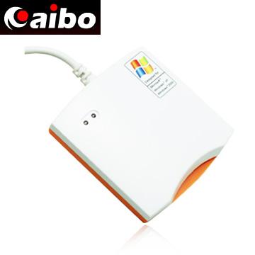 AIBO 晶片讀卡機(鏡面白) ICCARD-AB680U/W