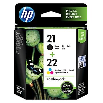 HP 21/22號組合包墨水匣 CC630AA