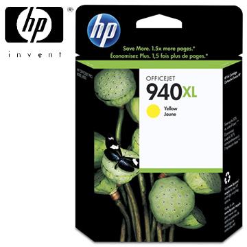 HP 940XL 黃色墨水匣 C4909AA