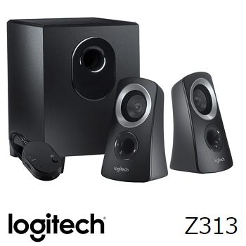 (福利品) 羅技Logitech Z313 2.1 聲道多媒體喇叭