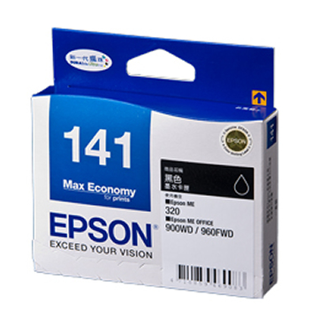 EPSON 141 黑色墨水匣