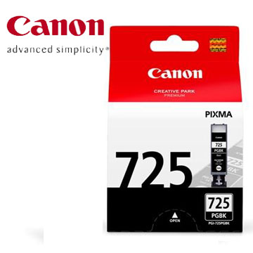 佳能CANON 725 黑色墨水匣