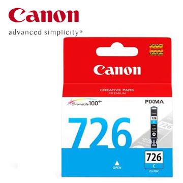 CANON 726 藍色墨水匣