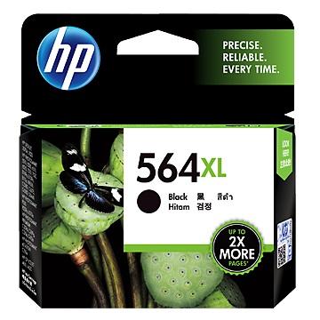 HP 564XL 高容量黑色墨水匣 CN684WA