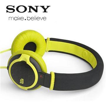 【福利品】SONY PQ2潮流系列耳機-貼耳(綠) MDR-PQ2/GQ