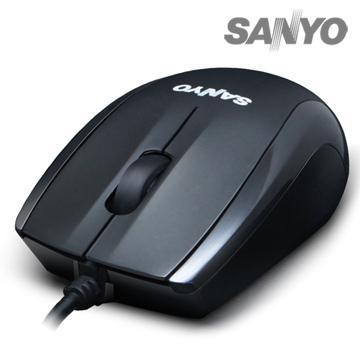SANYO 有線光學環保鼠