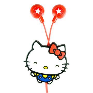 Hello kitty 50週年限定版造型耳機