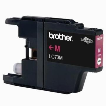 Brother LC-73M洋紅色墨水匣