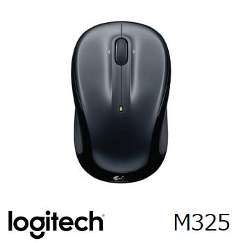 羅技 Logitech M325 無線滑鼠 - 黑