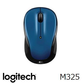 羅技 Logitech M325 無線滑鼠 - 藍 910-002389