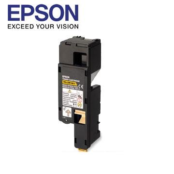 愛普生EPSON C17系列黃色碳粉匣 C13S050611