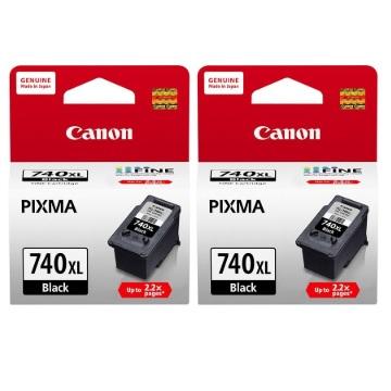 【兩入9折】CANON 740XL 高容量黑色墨水匣