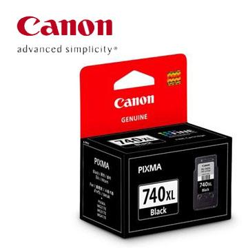 【兩件85折優惠】CANON 740XL 高容量黑色墨水匣 PG-740XL