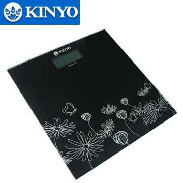 KINYO花漾電子式體重計