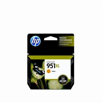 HP 951XL 黃色墨水匣 CN048AA