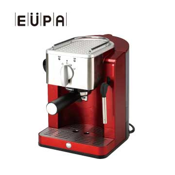 【福利品】EUPA幫浦式高壓蒸氣咖啡機 TSK-1827RA