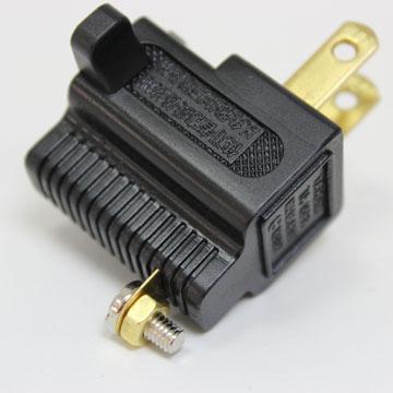 群加 3轉2 L型電源轉接插頭【兩入】 PWA-G90322