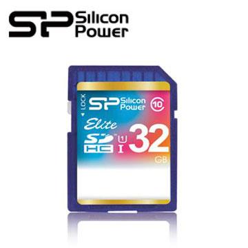 【32G】廣穎 Silicon-Power SDHC UHS-1 C10 SD記憶卡
