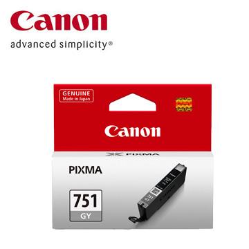 【福利品】CANON 751 灰色墨水匣