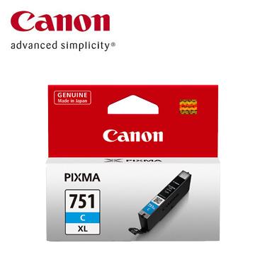 CANON 751XL 大容量藍色墨水匣