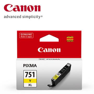 CANON 751XL 大容量黃色墨水匣 CLI-751XL Y