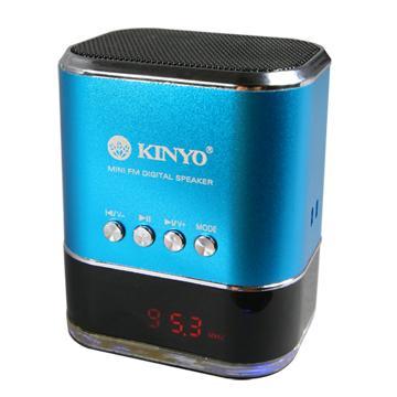 【福利品】KINYO FM讀卡喇叭