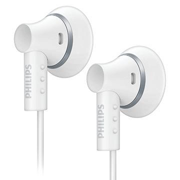 PHILIPS耳塞式耳機-白